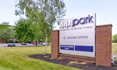 Community Signage, 444 Park, 2