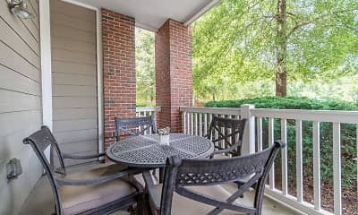 Patio / Deck, Rose Heights Apartments, 2