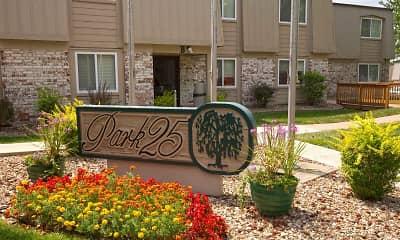 Community Signage, Park 25, 0