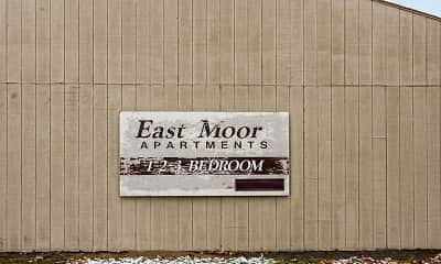 Community Signage, Eastmoor Apartments & Townhomes, 2