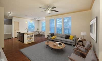 Living Room, Camden La Frontera Apartments, 0