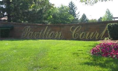 Community Signage, Pavilion Court, 0