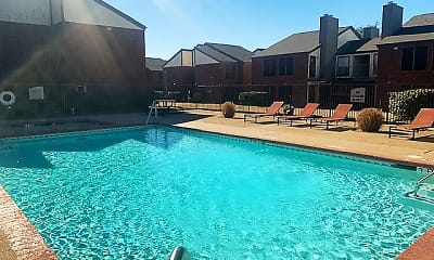 Pool, Rustic Oaks Apartments, 0