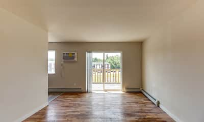 Living Room, Savory Village Apartments, 1