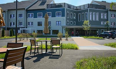 Recreation Area, Shirley Meadows Senior Housing, 1