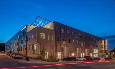 Building, Benson Lights Apartments, 2
