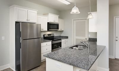 Kitchen, The Enclave, 1