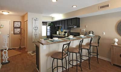 Kitchen, Waterford Village Apartments, 1