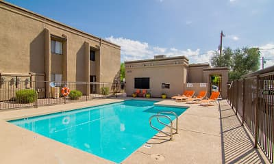 Pool, Solano Park Apartments, 1
