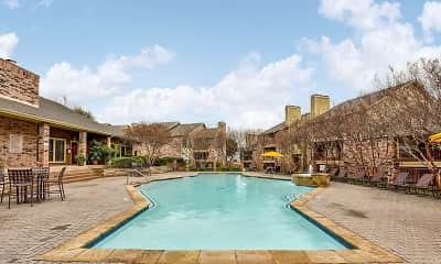 Pool, The Glen at Lewisville, 1