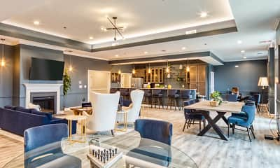 Dining Room, Crossroads Station Apartments, 0