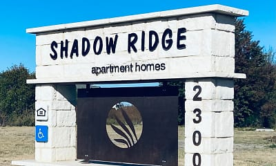 Community Signage, Shadow Ridge Apartment Homes, 0