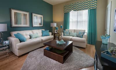 Living Room, Gateway at Carteret, 1