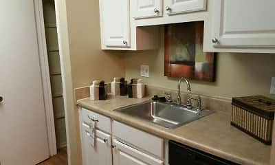 Kitchen, Park West Apartment Homes, 1