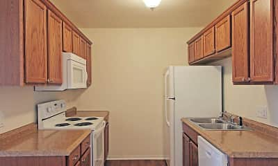Kitchen, Fox Valley Apartments, 1