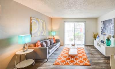 Living Room, Villa Serena, 1