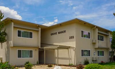 Building, Grove Manor, 1