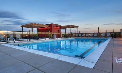 Pool, Yorktown Apartments, 0