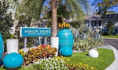 Community Signage, Avalon Shores, 2