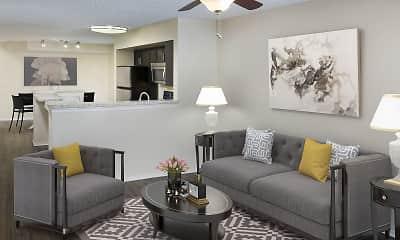 Living Room, Camden Doral Villas, 0