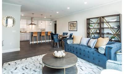 Living Room, Nineteen North Apartments, 0