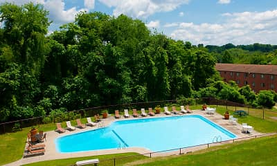 Pool, Birnam Wood Apartments, 0