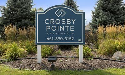 Community Signage, Crosby Pointe, 2
