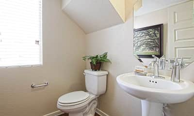Bathroom, The Place on 51st, 2