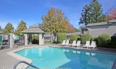 Pool, Westridge Apartments, 2