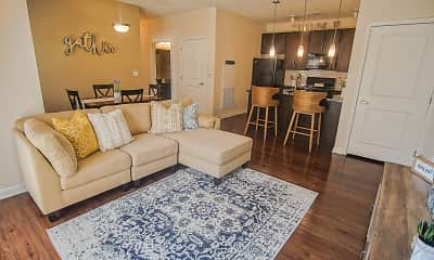 Living Room, Chisholm Lake Apartments, 1