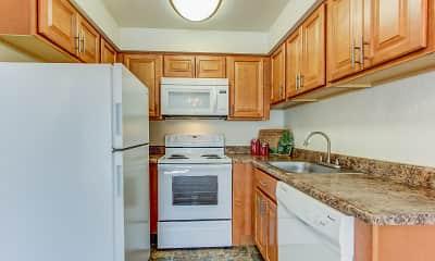 Kitchen, Birnam Wood Apartments, 1