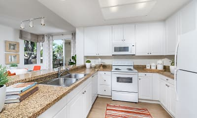 Kitchen, San Carlo Villa, 1
