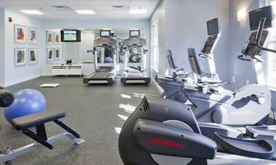 Fitness Weight Room, Ocean Shores Apartments, 2