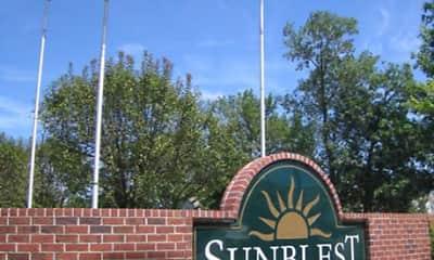 Community Signage, Sunblest Apartment Homes, 1