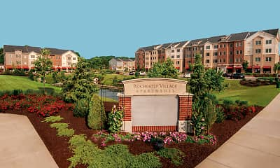 Community Signage, Rochester Village At Park Place, 0