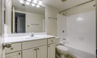 Bathroom, The Apartments at Tamar Meadow, 2