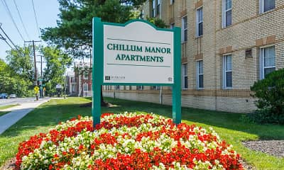 Community Signage, Chillum Manor, 1