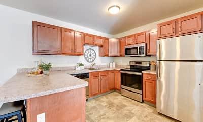 Kitchen, Kings Pointe Senior Apartments, 1