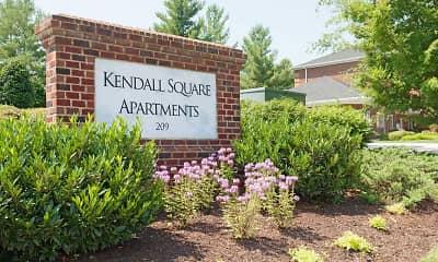 Community Signage, Kendall Square, 2