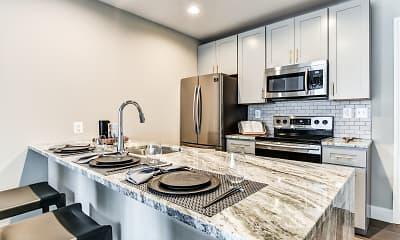Kitchen, Riverwalk, 1
