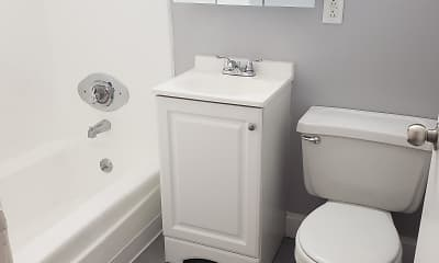 Bathroom, Ivy Garden Apartments, 1