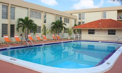Pool, Las Brisas Gardens, 0
