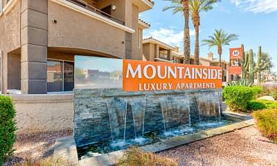 Community Signage, Mountainside Apartments, 2