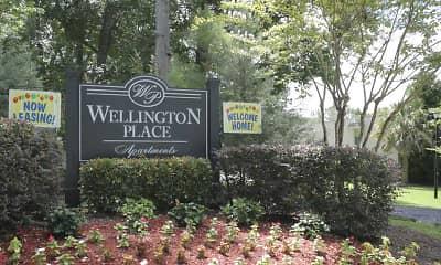 Community Signage, Wellington Place, 2