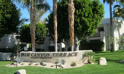 Community Signage, Palm Canyon Terrace, 2