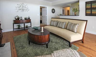 Living Room, The Crescent at River Ranch, 0