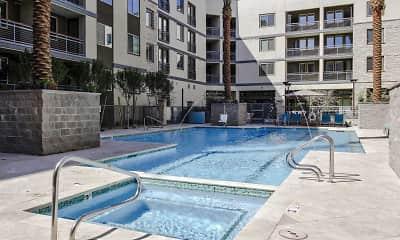 Pool, Peak 16 Apartments, 0