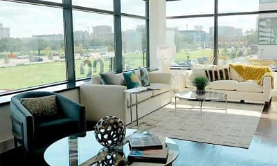 Living Room, 100 Park, 0