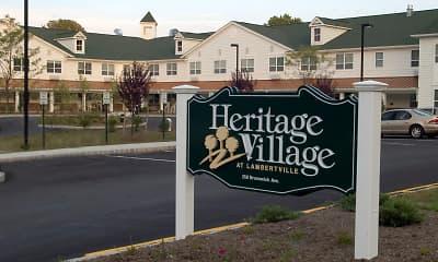Community Signage, Heritage Village At Lambertville, 1
