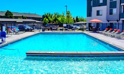 Pool, Easton Village Apartments, 2